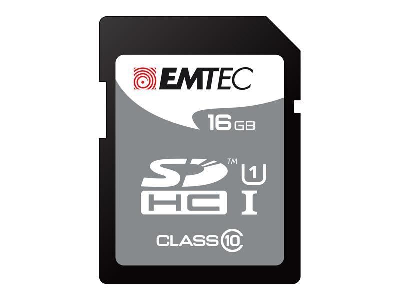 Emtec 32 GB memóriakártya SDHC Class 10