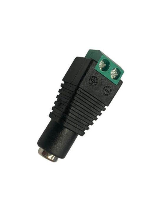 Kameratáp csatlakozó 5.5x2.5 mm 12V