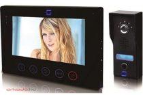 """Videó kamerás kaputelefon szett 7"""" LCD / TFT színes, érintőképernyős monitorral"""