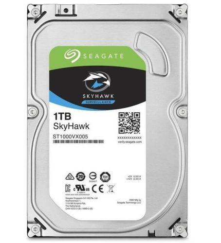 """Seagate Belső HDD 3.5"""" 1TB - ST1000VX005 (5900rpm, 64 MB puffer, SATA3 - Skyhawk (biztonságtechnikai rögzítőkbe))"""