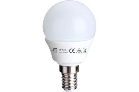 E14 LED izzó G45 4W