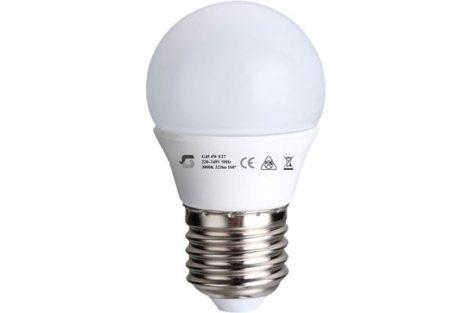 E27 LED izzó G45 4W