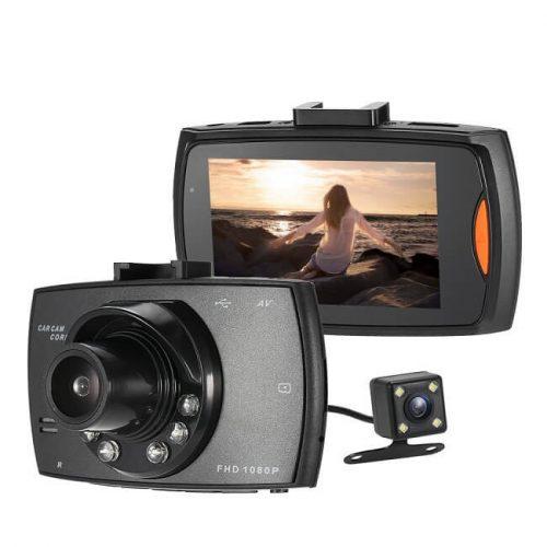 Alphaone FullHD kétkamerás fedélzeti kamera és tolatókamera G30-DBL