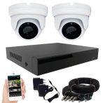 Acesee KPC Ts28 - 2 kamerás éjjellátó kamera rendszer 2M Pixel