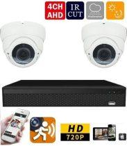 AHD-36 2 kamerás éjjellátó kamera rendszer HD 1280X720P felbontás