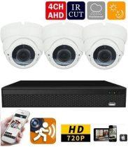 AHD-36 3 kamerás éjjellátó kamera rendszer HD 1280X720P felbontás