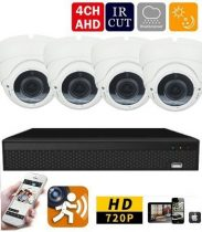 AHD-36 4 kamerás éjjellátó kamera rendszer HD 1280X720P felbontás