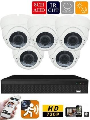 Longse AHD-36 5 kamerás éjjellátó kamera rendszer