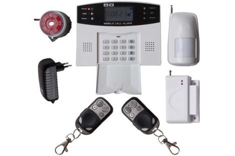 LYD-111 GSM / SMS Vezeték nélküli 99 zónás riasztó rendszer