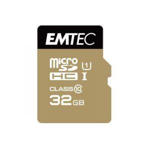 EMTEC 32 GB microSDHC Class 10  memóriakártya UHS-I 85MB/s + adapter