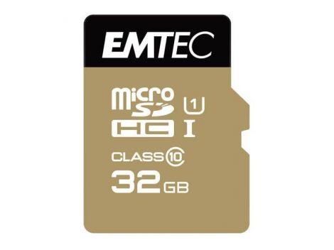 EMTEC 32 GB microSDHC Class 10  memóriakártya + adapter