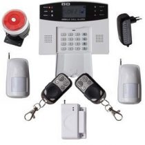 Global vezeték nélküli riasztórendszer GSM SMS 2db PIR