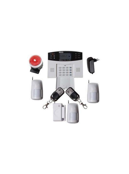 Global vezeték nélküli riasztórendszer GSM SMS 3db PIR
