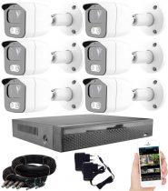 Acesee KPC Ts23 - 6 kamerás éjjellátó kamera rendszer