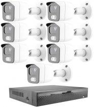 Acesee KPC Ts23 - 7 kamerás éjjellátó kamera rendszer