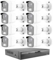 Acesee KPC Ts23 - 8 kamerás éjjellátó kamera rendszer