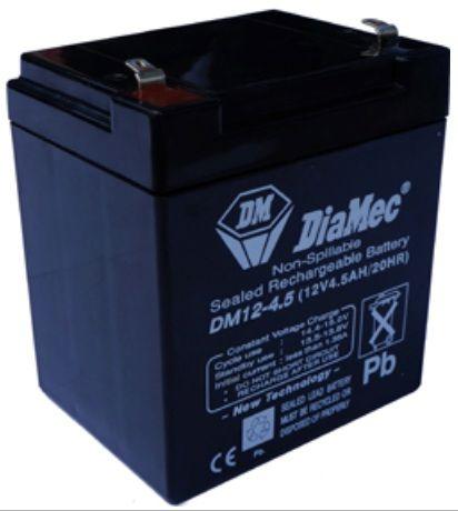 4.5 Ah 12V zselés akkumulátor DIAMEC