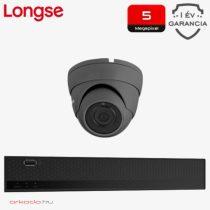 5 Megapixeles 1 dome kamerás biztonsági kamerarendszer