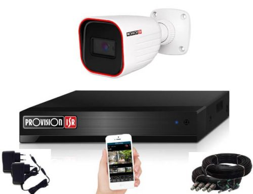Provision AHD-23 1 kamerás megfigyelő kamerarendszer Full HD 1920x1080