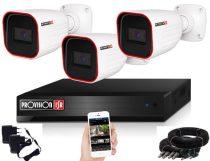 Provision AHD-23 3 kamerás megfigyelő kamerarendszer Full HD 1920x1080