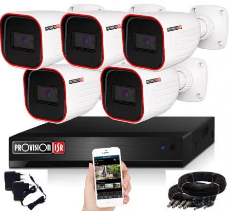 Provision AHD-23 5 kamerás megfigyelő kamerarendszer Full HD 1920x1080