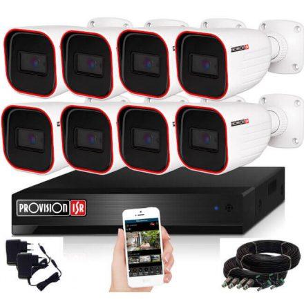 Provision AHD-23 8 kamerás megfigyelő kamerarendszer Full HD 1920x1080