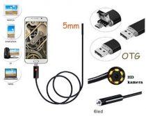 Endoszkóp, boroszkóp kamera androidos okostelefonokhoz 5M