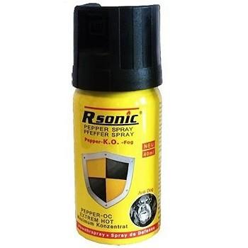 Gázspray paprikaspray és borsspray Rsonic FOG K.O. 40ml