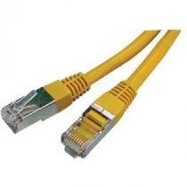 Digitus UTP kábel sárga 1m