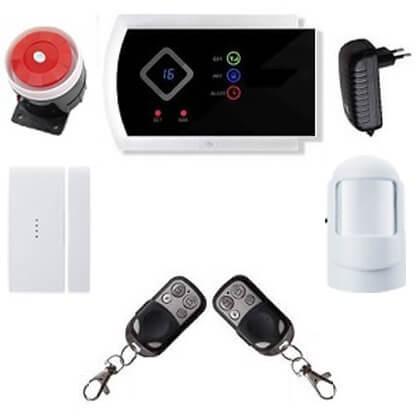Security GSM-SMS vezeték nélkül lakásriasztó okostelefon 1db PIR