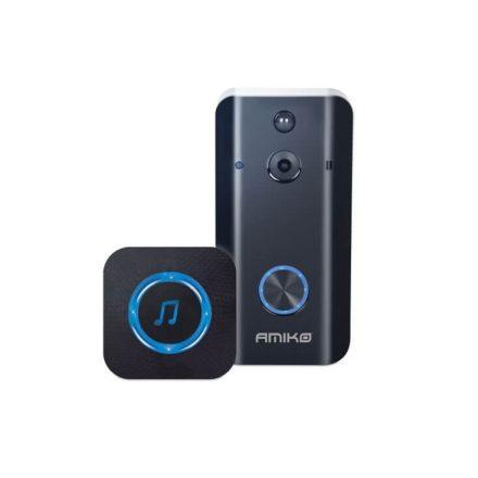 AMIKO AHSD-1 WIFI akkumulátoros videó kaputelefon beltéri egységgel