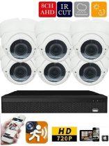 Longse AHD-36 6 kamerás éjjellátó kamera rendszer