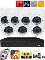 Longse AHD-36 7 kamerás éjjellátó kamera rendszer
