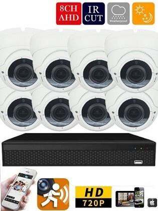 Longse AHD-36 8 kamerás éjjellátó kamera rendszer