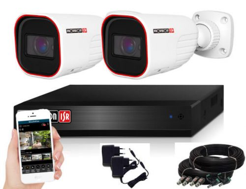 Provision FULL HD 2 Mpx 2 kamerás megfigyelő kamerarendszer