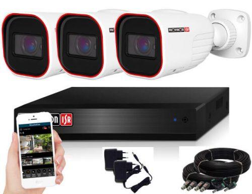Provision FULL HD 2 Mpx 3 kamerás kamerarendszer