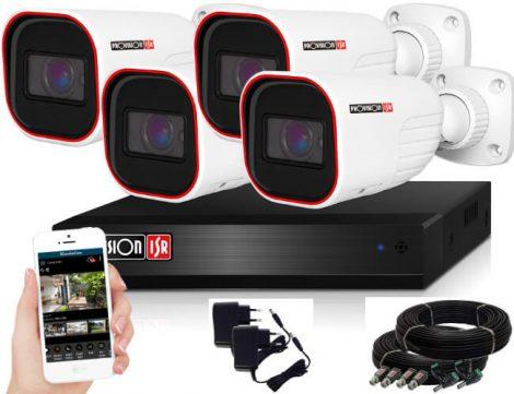 Provision FULL HD 2 Mpx 4 kamerás kamerarendszer