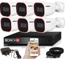 Provision FULL HD 2 Mpx 6 kamerás kamerarendszer