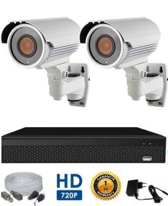 AHD-42 HD 2 kamerás kamerarendszer 5X ZOOM