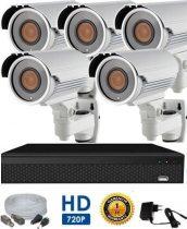 AHD-42 HD 5 kamerás kamerarendszer 5X ZOOM