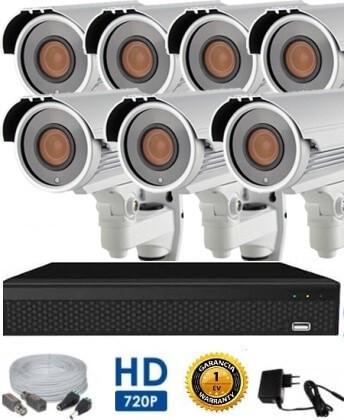 AHD-42 HD 7 kamerás kamerarendszer 5X ZOOM
