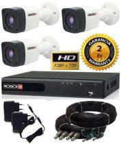 1.3 Mega-Pixel Provision 3 kamerás AHD kamera rendszer