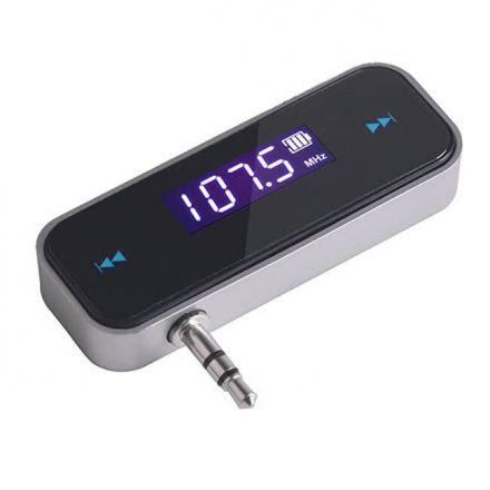 Akkumulátoros Fm transmitter hallgass zenét vezetékek nélkül