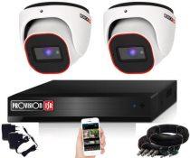 Provision 2 Mpx FULL HD 2 dome kamerás megfigyelő kamerarendszer