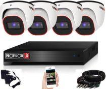 Provision 2 Mpx FULL HD 4 dome kamerás megfigyelő kamerarendszer