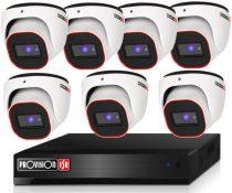 Provision 2 Mpx FULL HD 7 dome kamerás megfigyelő kamerarendszer