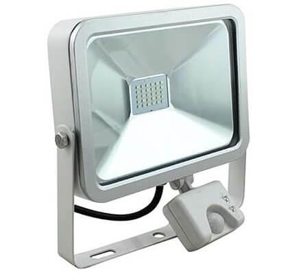 GLOBAL LED fényvető reflektor 50W PIR mozgásérzékelő
