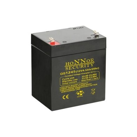 Honnor HS12-5 riasztó akkumulátor 12V 5AH játékokba akkumulátor