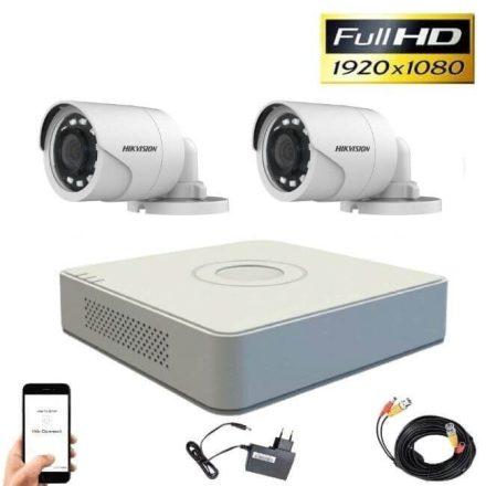 Hikvision 1080P TurboHD 2 kamerás bullet kamera rendszer
