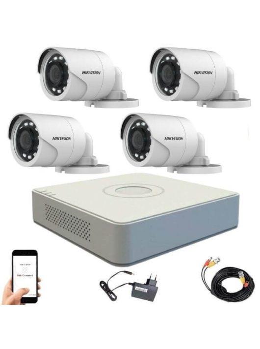 Hikvision 720P TurboHD 4 kamerás bullet kamera rendszer